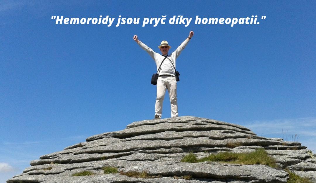 Hemoroidy jsou pryč díky homeopatii