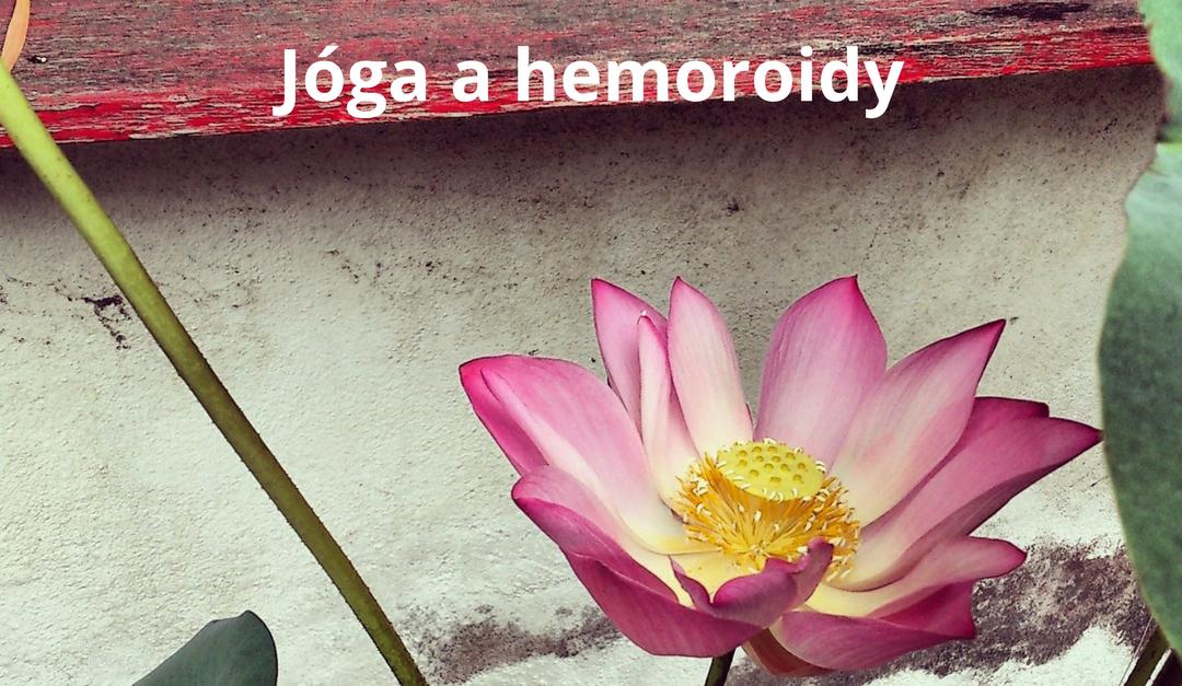 Jóga a hemoroidy