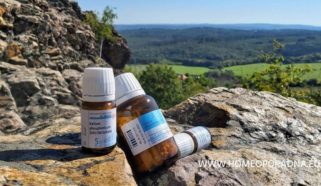 Měsíční kúra 3 x 3 na posílení vaší imunity (odolnosti) – Schüsslerovy soli